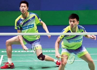 吴蔚昇/陈蔚强全英赛8强不敌李俊慧/刘雨辰,尝得赛季首败。
