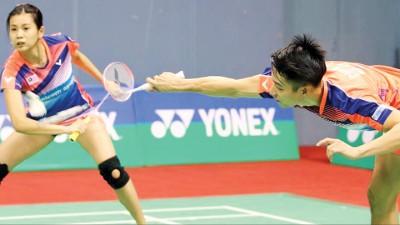 陈炳顺/吴柳萤将对抗金基正/申升瓒。