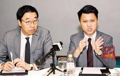 柳现锡与张盛闻共同出席马来西亚教师韩国研讨会。