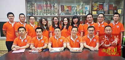 大山脚韩江公会青年团将在4月16日举办书法、征文及美术比赛,推广中华文化。