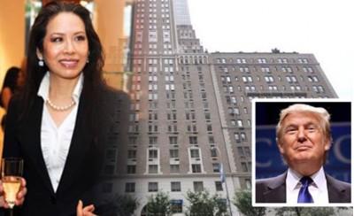 有消息指是纽约华裔社交名媛陈晓燕购买特朗普豪宅单位。