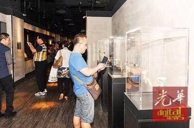 郑和文化艺术馆设于槟城时广场1楼。