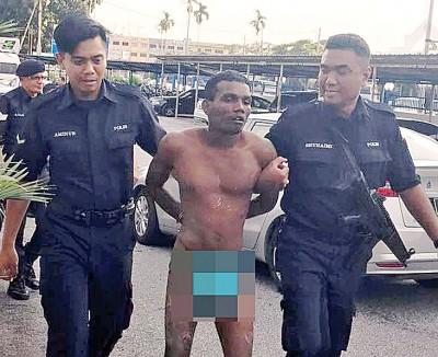 只是穿在1永底裤的印裔看犯在法庭逃脱2时后被警方追捕。