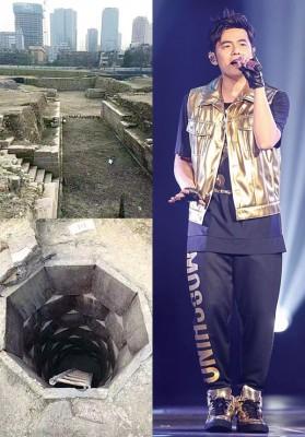 周杰伦世界巡演的成都站,传出因演唱会场地下方挖出遗址,不得不取消演出。