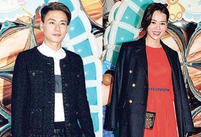 黄宗泽与旧爱胡杏儿同台出席陈敏之为儿子雷子乐举行的百日宴不觉得尴尬。