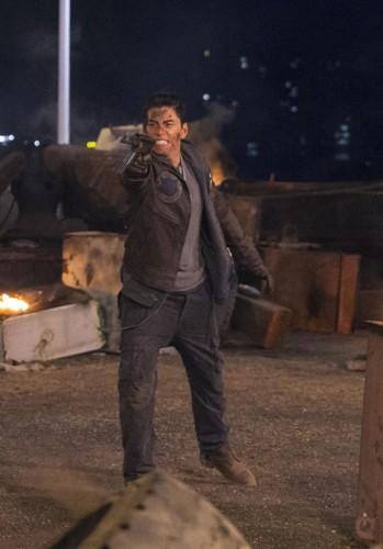 王大陆在《英雄本色4》化身新一代小马哥。