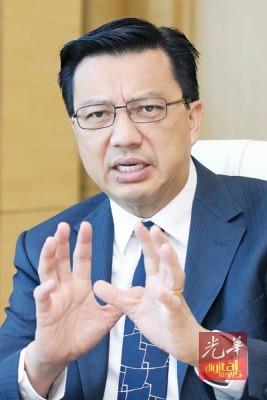 廖中莱:哈廸提呈的私人动议,是行动党替伊斯兰党保驾护航的后遗症。