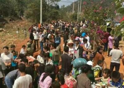 缅北地区不时爆发武装冲突,令当地民众流离失所。