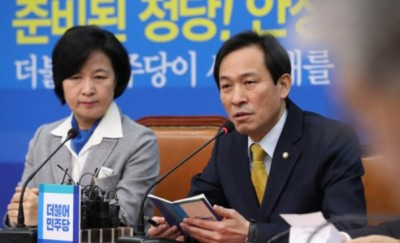 禹相虎(右)认为在部署萨德一事上,韩国应取得中俄两国同意。