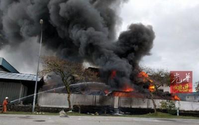 金銮工业区一家香精、精华油及洗发液工厂曾在3月4日发生火灾。
