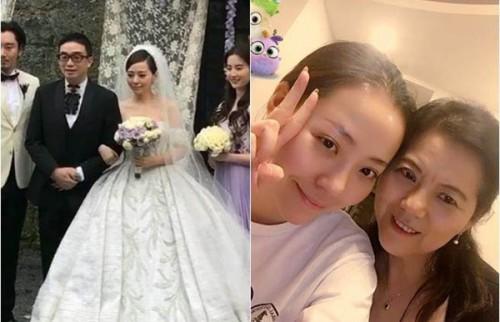 张靓颖、冯轲去年完婚,张母一度跳出反对。