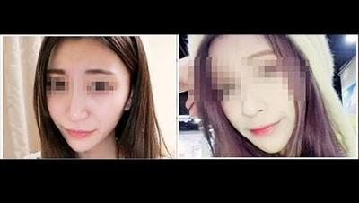 早前被指为杀害陈姓女模(右)的疑犯之一的梁思惠(左)因证据不足而获释。(右)