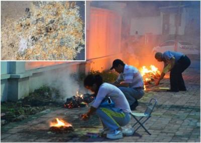 杭州市多名接触过冥纸、银元宝的人铅中毒。