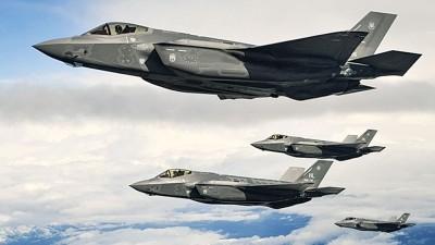 美国空军F-35A即将部署欧洲,F-35A是隐形战机。