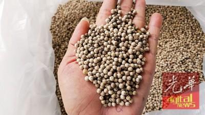 亚洲人对白胡椒的需求量较大。