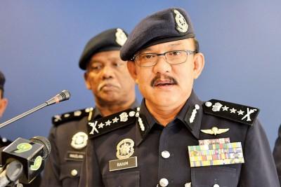 霹雳州公安局澄清该州总警长拿督斯里阿都拉欣的人状况很乐观,不要如近期社交网站传出的危殆。