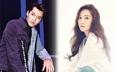 (左)吴亦凡(右)Jessica