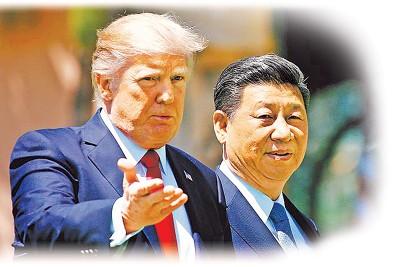 特朗普周三以及习近平搭电话,期望中国帮遏止朝鲜军事挑衅。
