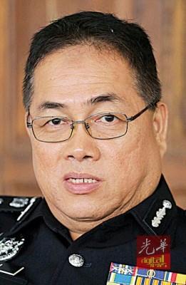 怡保警区主任岑振強。