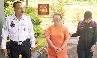 涉嫌吸毒鲁莽驾驶造成肃毒组主任夫妇死亡的女嫌犯再度延扣4天助查。