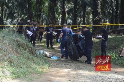 同一名男性子被发现陈尸棕油园路口,身份不明。