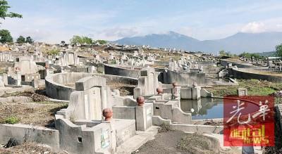 韩江义山墓位日后将编排编号,方便管理。