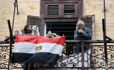 埃及正实施紧急状态。(法新社照片)