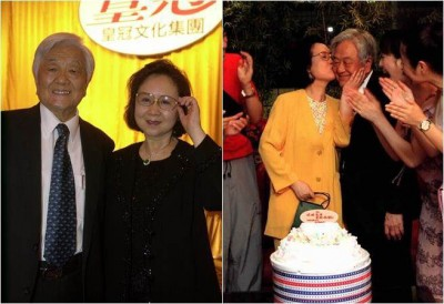 琼瑶和平鑫声音结婚38年,近来平鑫涛以健康状况无可以卧病在床。