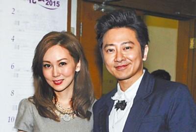 孙耀威(右)与陈美诗传出今年完婚。