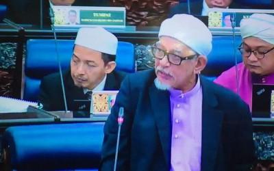 哈迪阿旺周四中午起以国会下议院提上《1965伊斯兰法庭(刑事权限)修正案》。