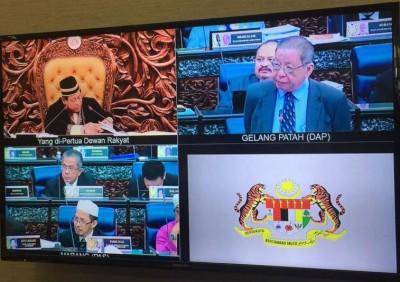 林吉祥质问议长为何其他所提上的贴心人动议不受允许提上。