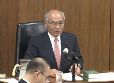 吉野正芳被选为新任复兴大臣。