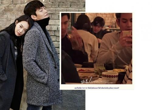 有泰国民众前往韩国旅游,在餐厅巧遇正在约会中的金宇彬与申敏儿。