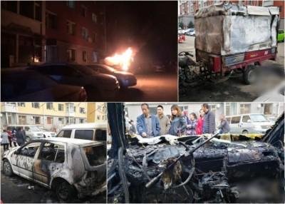 邹女上月底在屋苑内再次纵火,烧毁多辆汽车及摩托车。