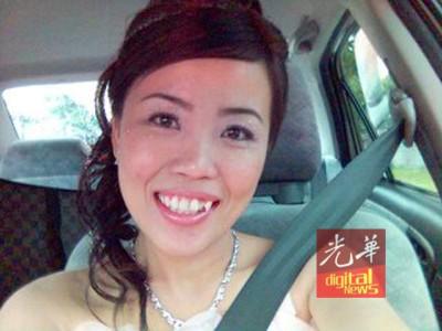 病发前的李岫励是位漂亮的美人儿。