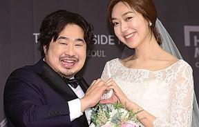 姜在俊和李恩炯前年在《Running Man》上,邀请刘在锡担任婚礼司仪。