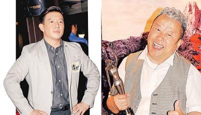 (左)杜汶泽。(右)曾志伟。