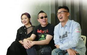 第三度合作,杨千嬅(左起)、彭浩翔与余文乐在谈及拍摄期间的点滴,仍笑不拢嘴。