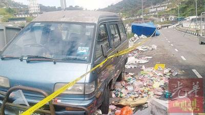 金马仑劳动节前夕来货车不知怎么失控冲撞数只夜市摊位意外,同样名3东巫裔女童不幸丧命。