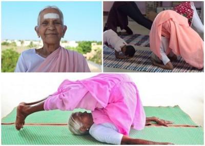 娜娜马尔称,每天做瑜伽身体好。