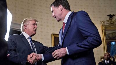 """高铭前往白宫晚宴,媒体指特朗普要求外""""效忠""""。"""