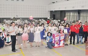 """中华一校师生们,与Yeo's杨协成校园""""健康教育,飞跃校园分享会""""特工,度过有意义及难忘的一小时。"""