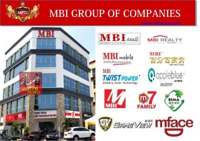 MBI国际有限公司是于2009年由张誉发(Tedy Teow)创办,旗下也拥有60多家实体产业。