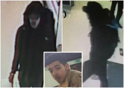 闭路电视截图显示,阿贝迪背着疑似炸弹背包。