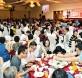 《光华日报》感恩双亲之夜宴开98席,让子女欢喜地与双亲度过美好的周末。