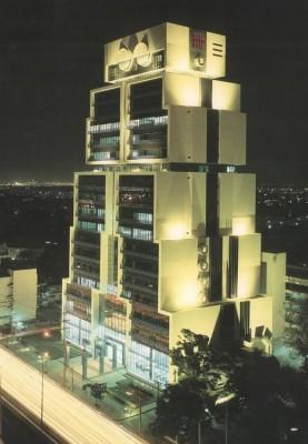 曼谷「机器人楼」