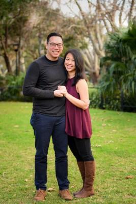男友邝衍彰前听到吴洁珍故意为外求婚的建议,早已表示支持。(受访者提供)
