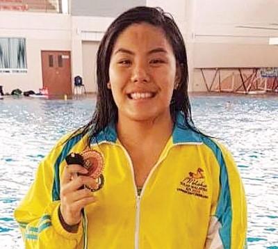 陈仪琳于大马公开赛首日夺得1枚铜牌。