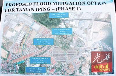 峇都茅怡槟花园治水计划将分成2期,为期长达2年。
