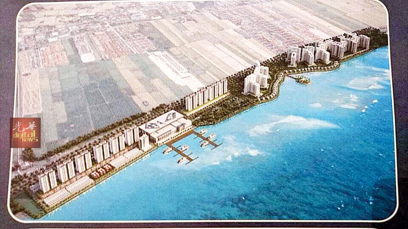 """耗资12亿令吉""""阿曼海洋""""大型综合发展计划,以打造高素质城市提供更好生活为主打口号。"""
